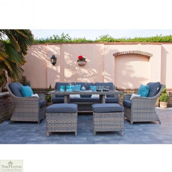 Casamoré Corfu Woodash Rectangular Sofa Dining Set_3