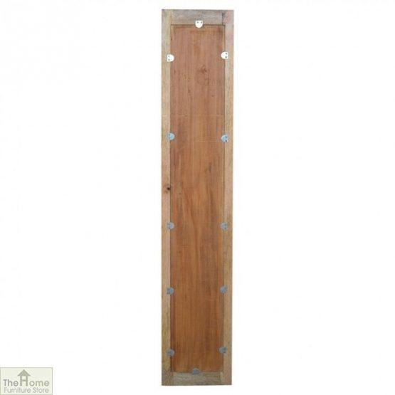 Wall Mounted Wooden Rectangular Mirror_6