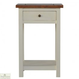 Woodbridge 1 Drawer 1 Shelf End Table