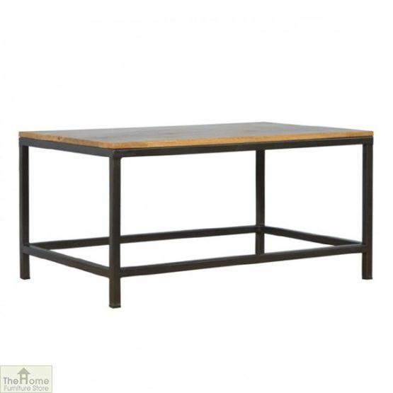 Iron Base Coffee Table_1