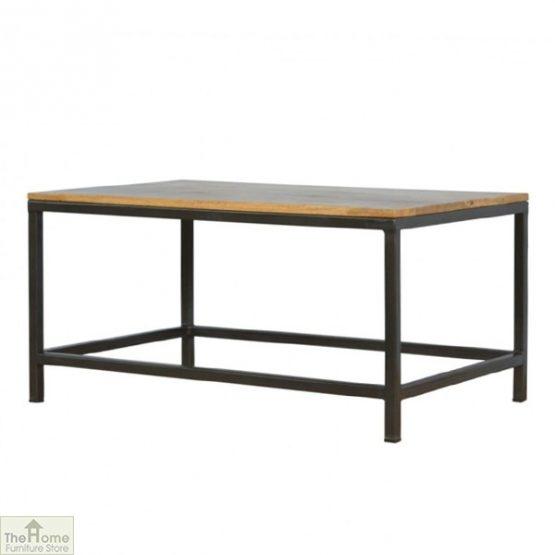 Iron Base Coffee Table_2