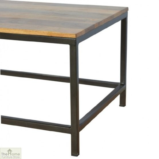 Iron Base Coffee Table_3
