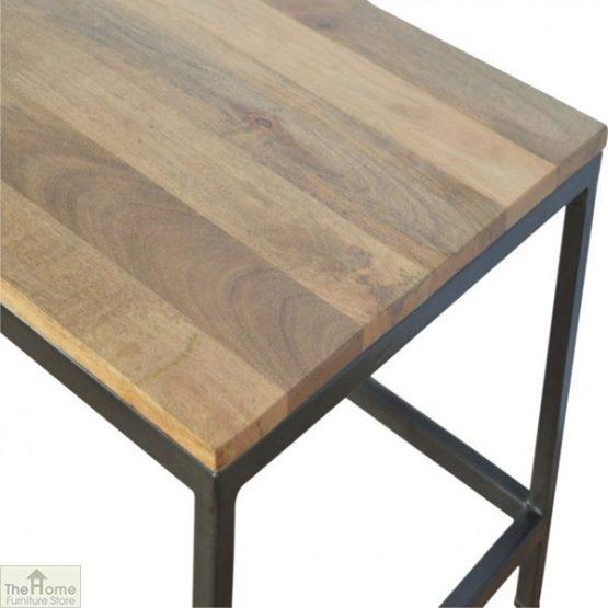 Iron Base Coffee Table_5
