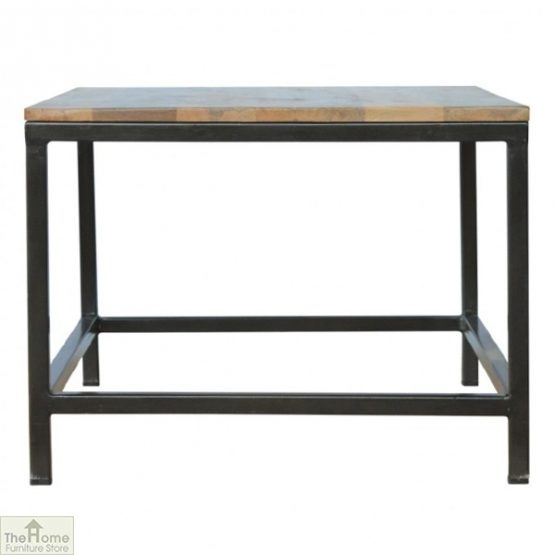 Iron Base Coffee Table_7