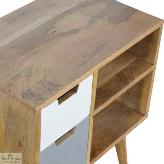 Winchester Grey 2 Drawer 2 Shelf Cabinet_3