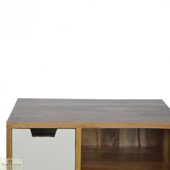 Winchester Grey 2 Drawer 2 Shelf Cabinet_4