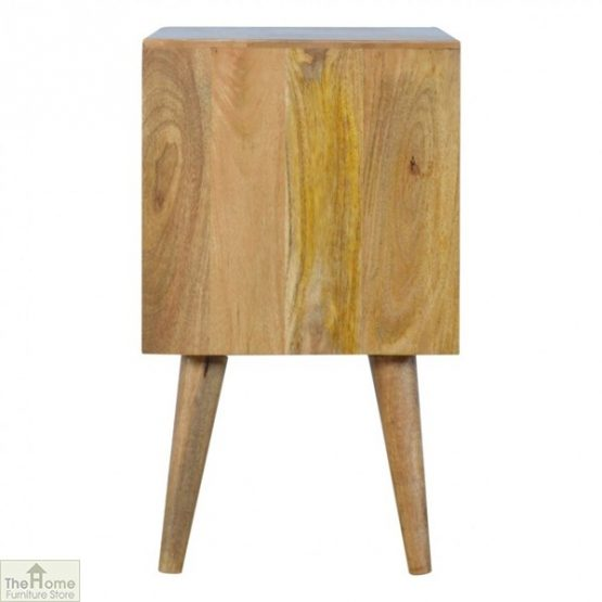 Winchester Grey 2 Drawer 2 Shelf Cabinet_7