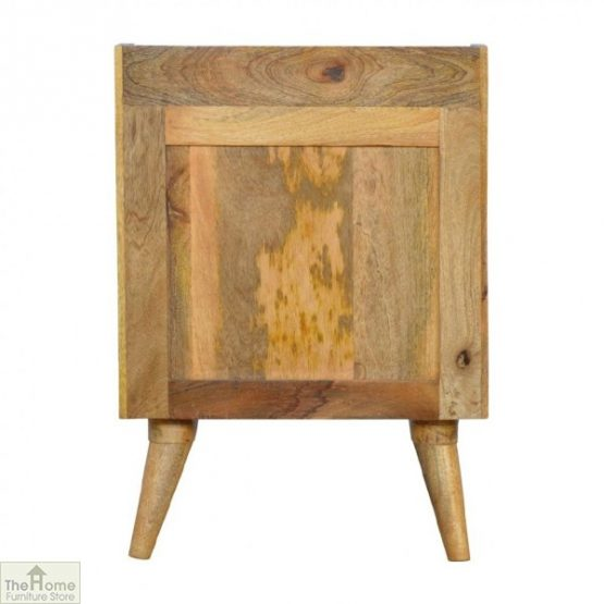 Winchester Pink 3 Drawer Bedside Table_4