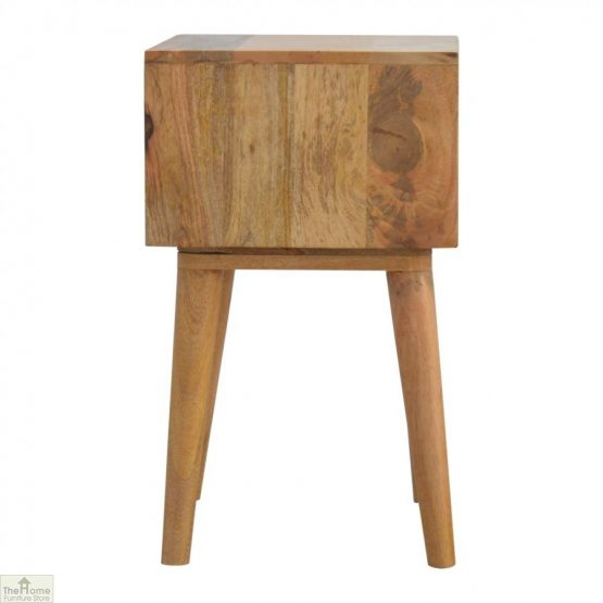 Winchester Pink 2 Drawer Bedside Table_3