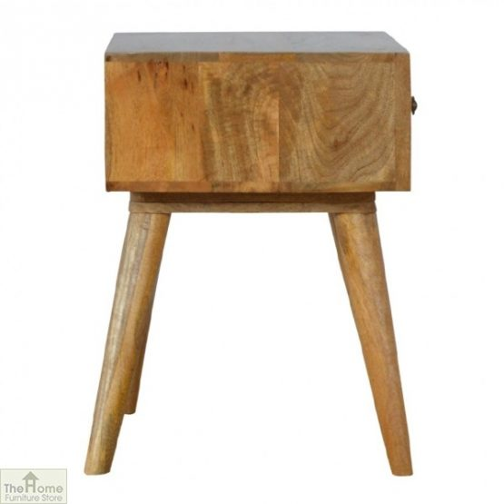 Geometric Print 1 Drawer End Table_6