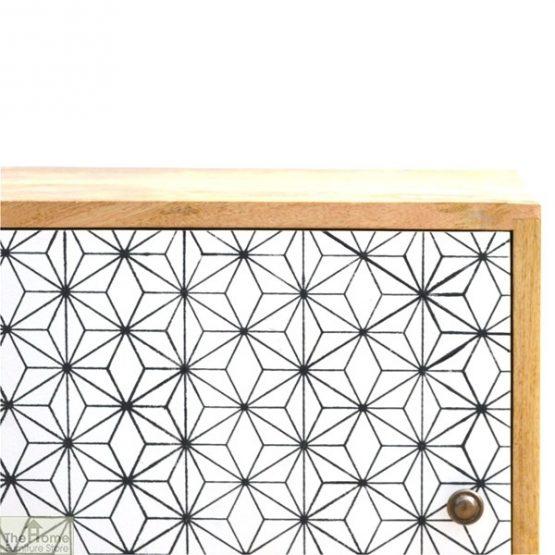 Geometric Print 1 Door Bedside Cabinet_3
