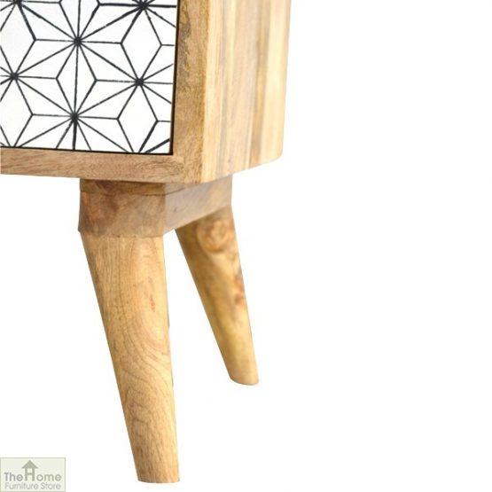 Geometric Print 1 Door Bedside Cabinet_6