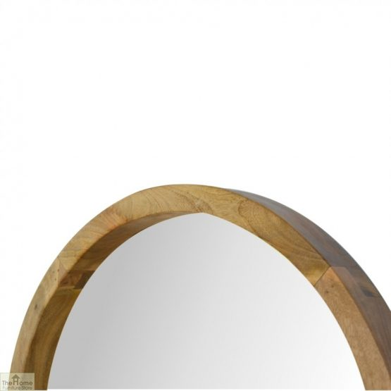 Wall Mounted Round Mirror_3