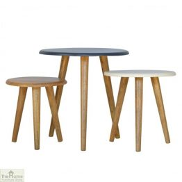 Winchester Navy Round Nest 3 Tables_1