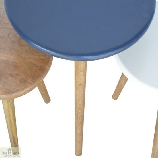 Winchester Navy Round Nest 3 Tables_5