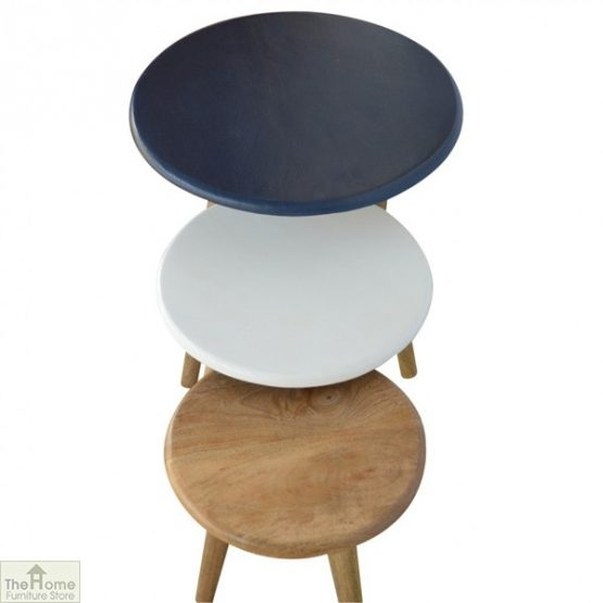 Winchester Navy Round Nest 3 Tables_3