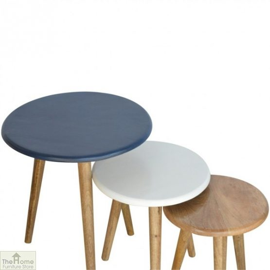 Winchester Navy Round Nest 3 Tables_4