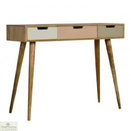 Winchester Pink 3 Drawer Dressing Table_1