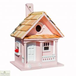 Cotton Candy Pink Bird House