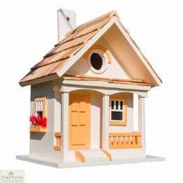 Peaches & Cream Bird House