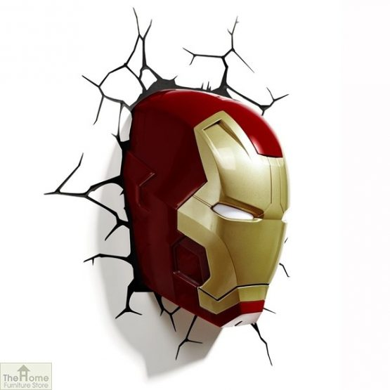Marvel Iron Man Wall Light_2