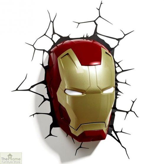 Marvel Iron Man Wall Light