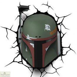 Star Wars Boba Fett Wall Light