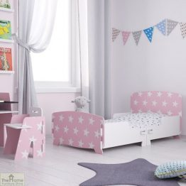Pink Star Junior Toddler Bed_1