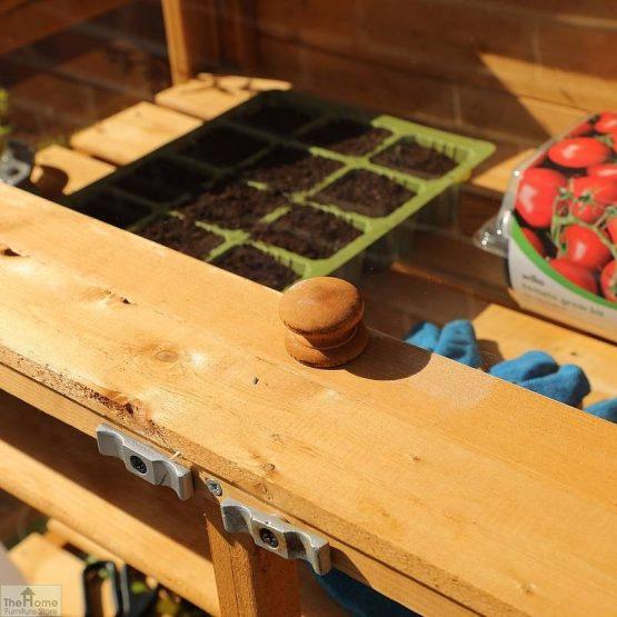 4 x 2 Mini Wooden Greenhouse_6