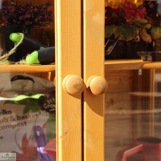 4 x 2 Mini Wooden Greenhouse_8