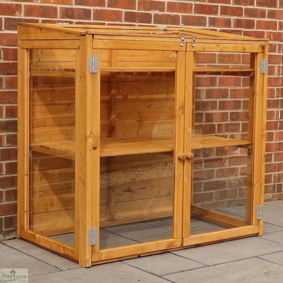 4 x 2 Mini Wooden Greenhouse_4