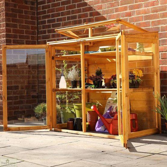4 x 2 Mini Wooden Greenhouse_2