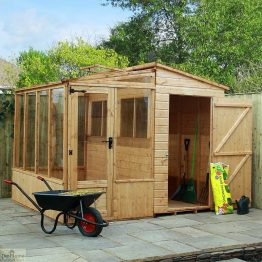 8 x 8 Combi Greenhouse Shed_1