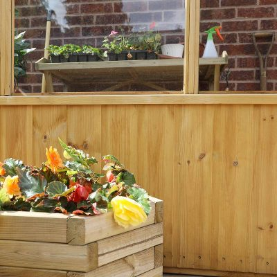 8 x 4 Lean-to Wooden Greenhouse_5