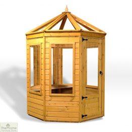 6 x 6 Octagonal Wooden Greenhouse