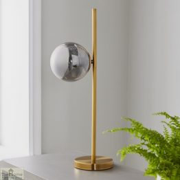 Sphere Gold Table Lamp_1