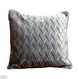 Diamond Grey Velvet Cushion Cover