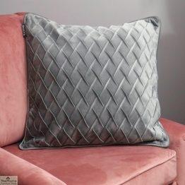 Diamond Grey Velvet Cushion Cover_1