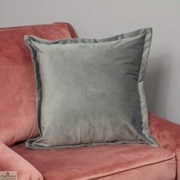 Grey Square Velvet Cushion Cover_1