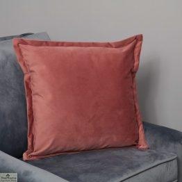 Pink Square Velvet Cushion Cover_1