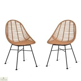 Hampstead Scoop Dining Chair Pair