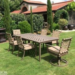 Encore Rectangular Garden Dining Table_1