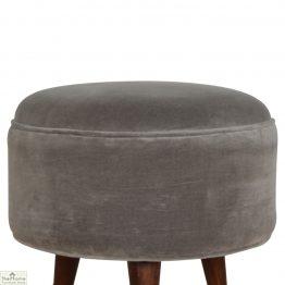 Nordic Style Velvet Upholstered Stool_1