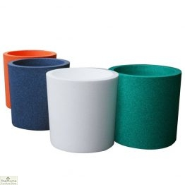Green Round Garden Flower Pot_1