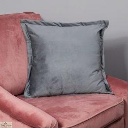 Textured Grey Velvet Cushion Cover_1