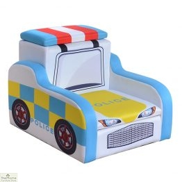 Police Car Storage Armchair