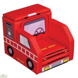 Fire Engine Storage Armchair