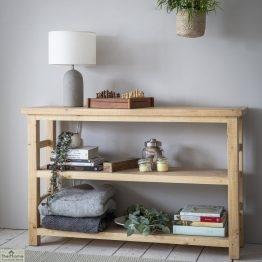 Brookville Pine 2 Shelf Bookcase_1