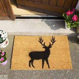 Stag Silhouette Doormat_1