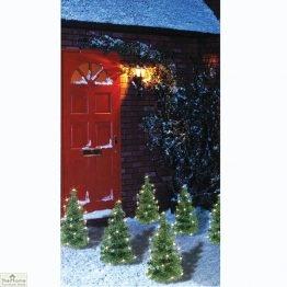 Pre-Lit Christmas Tree Pathway Lights